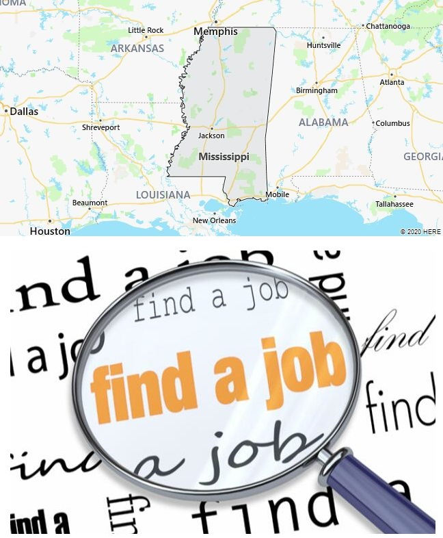 Search Jobs in Mississippi