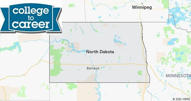 College Job Pages in North Dakota
