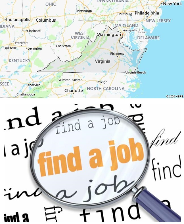 Search Jobs in Virginia