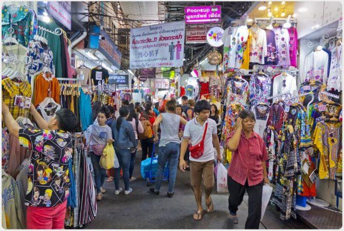 Pratunam market area