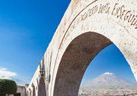 The parabolic arc Peru